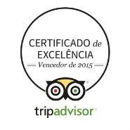 tripadvisor certificado de excelência