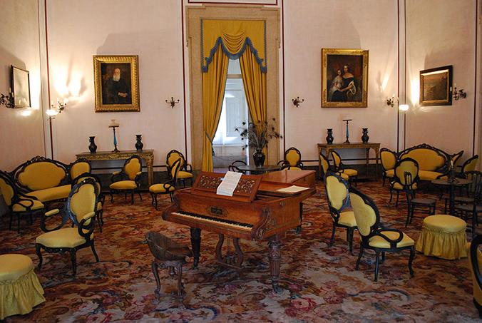 Sala Amarela - Palácio Nacional de Mafra